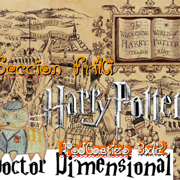 PodCastizo nº40: Madrid Friki. La saga de Harry Potter.