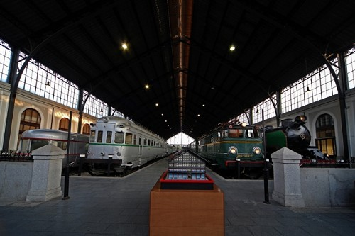 PodCastizo nº71: El museo del ferrocarril en la antigua estación de las Delicias de Madrid.