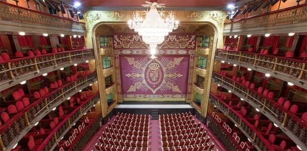 Teatro en Madrid.
