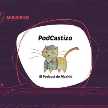 PodCastizo en directo en las Jpod18: Misterios y fenómenos paranormales poco conocidos de Madrid.